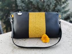 Mustársárga alkalmi táska - 10.00 Ft
