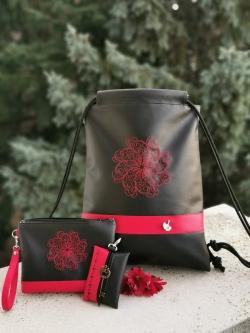 Igen, a piros mandalás hátizsák- 18.500 Ft-20%