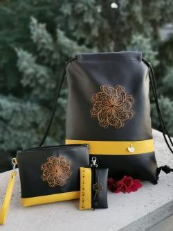 Igen, a sárga mandalás hátizsák- 18.500 Ft-20%