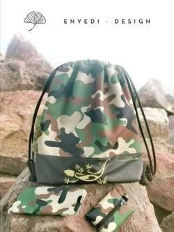 Terep mintás gyíkos hátizsák - 10.000 Ft