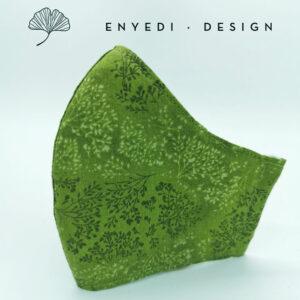 Zöld leveles maszk