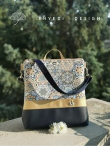 2in1 Mozaik mandalás táska