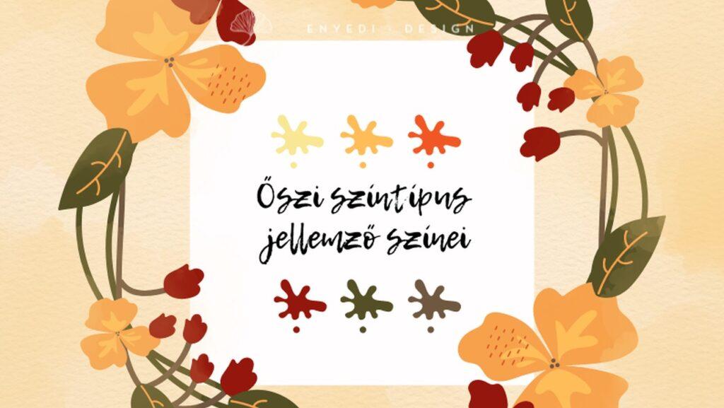 Őszi színtípus