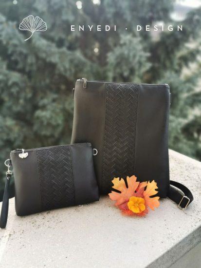 Fekete 2in1 táska