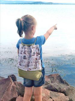 Erdei állatos gyerek hátizsák