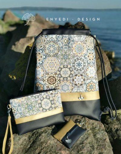 Mozaik mandalás hátizsák