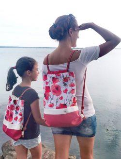 Pipacsos hátizsák